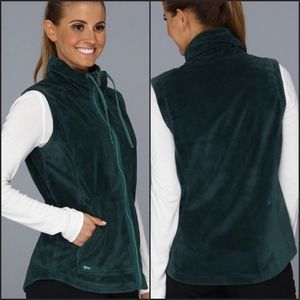 Hornytoad Blushfire Fleece Vest Zip Green Small